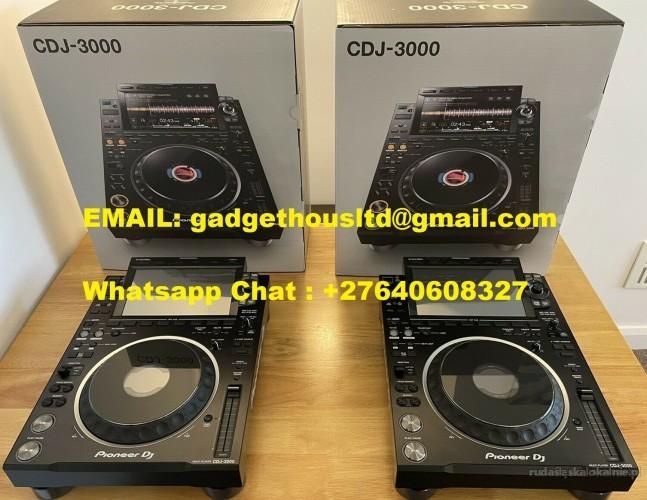 Pioneer Cdj-3000, Pioneer Cdj 2000 NXS2, Pioneer Djm 900 NXS2